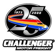 Challenger 25th Anniversary Logo