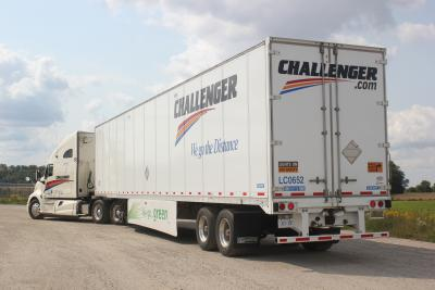 Expedite challenger for Motor cargo freight company
