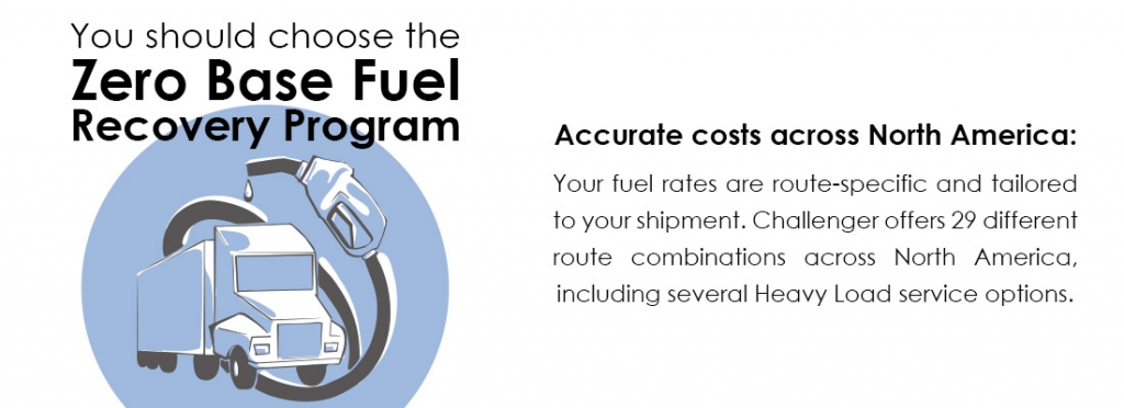 Zero Base Fuel Program - Accurate Costs Across North America