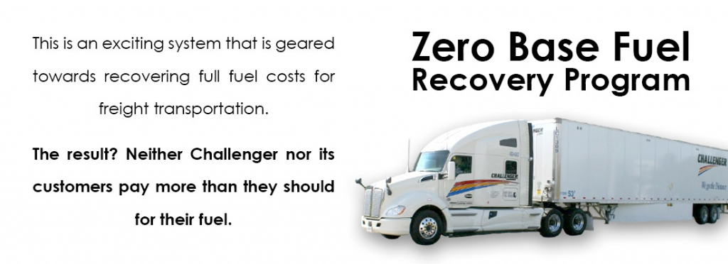 Zero Base Fuel Recovery Program - Don't Pay More