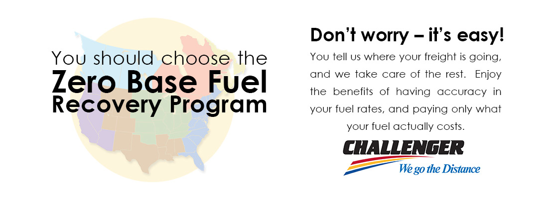 Zero Base Fuel Recovery Program - Economic, Advanced & Easy!