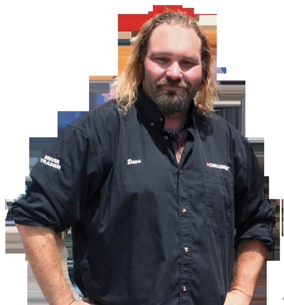 Driving trainer Dave Bennison