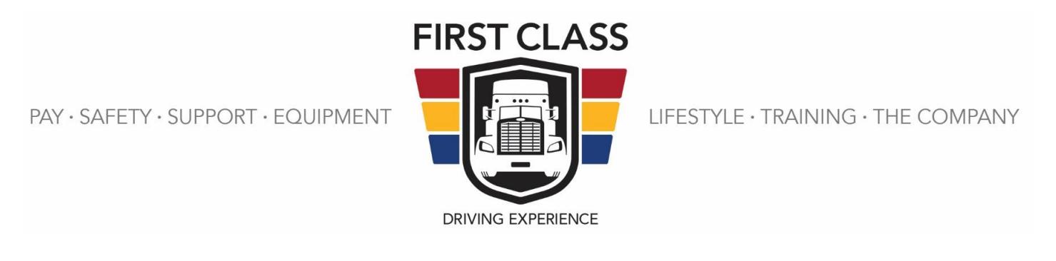 Challenger Motor Freight First Class Logo